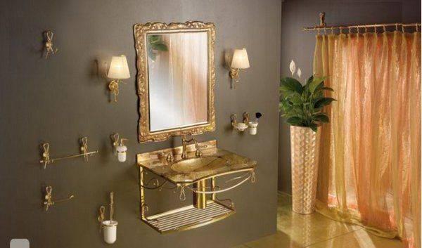 Imagenes De Baños Feos:Salmon and Grey Bathroom
