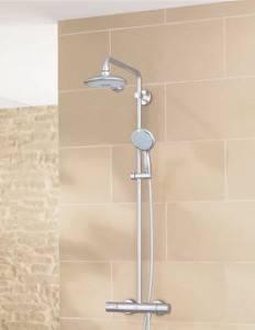 instalar grifería ducha