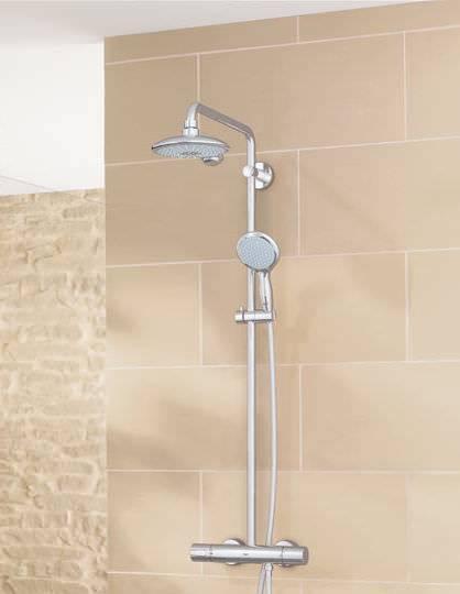 Griferia Para Baño Barata:Instalar grifería duchaGuíaAltura y medidas