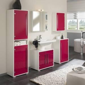 Cocina y Baño rosa
