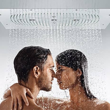 ducha en pareja
