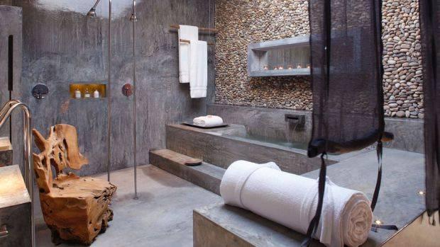 Baño Publico Mas Lujoso Del Mundo:Concrete Bathroom Walls