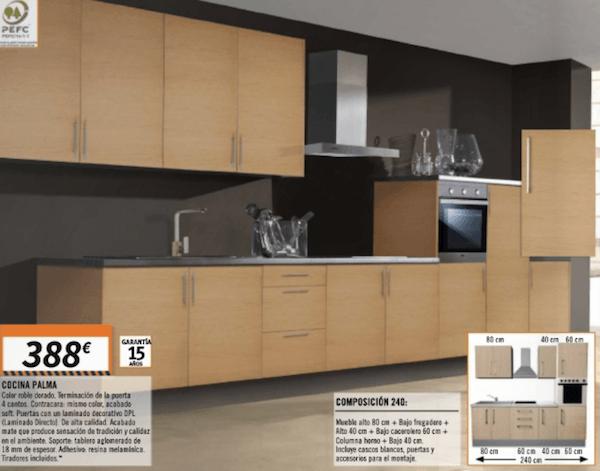 Diferenciar muebles de cocina tipo kit o fabricados a medida - Cocinas en kit ...