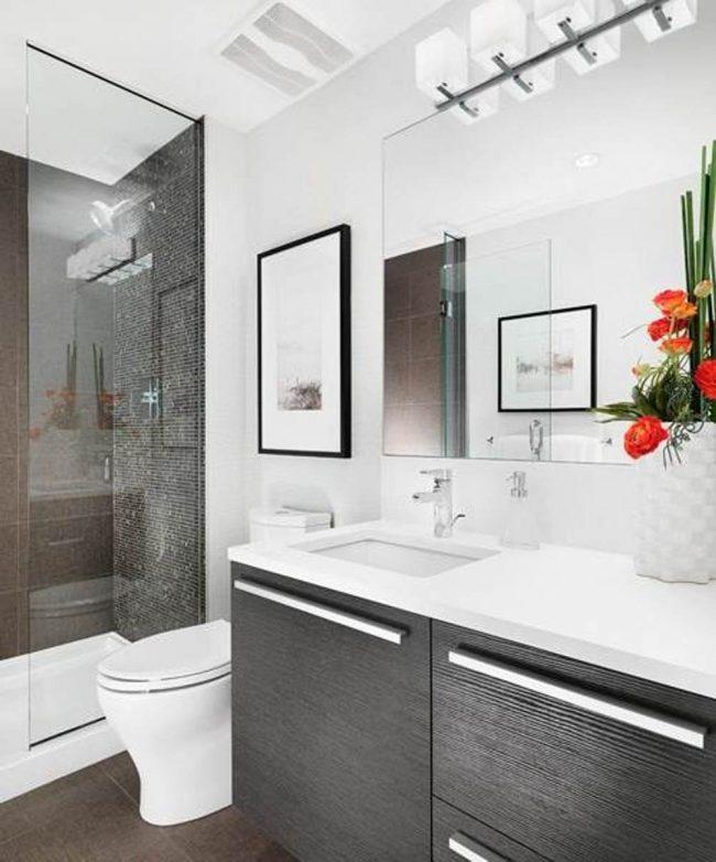 Limpiar elementos cromo del baño