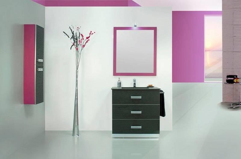 Mueble Baño Azul Turquesa:Mueble de baño alta gama serie Olas muebles de baño diseño baratos