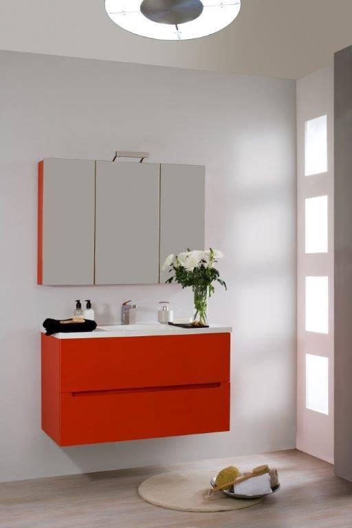 mueble de bao alta gama serie dado muebles de bao diseo baratos mueble bao rojo barato