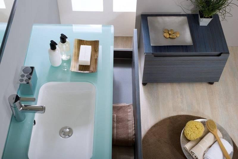 Muebles Baño Ambiente Azul:Mueble de baño alta gama serie Dado muebles de baño diseño baratos